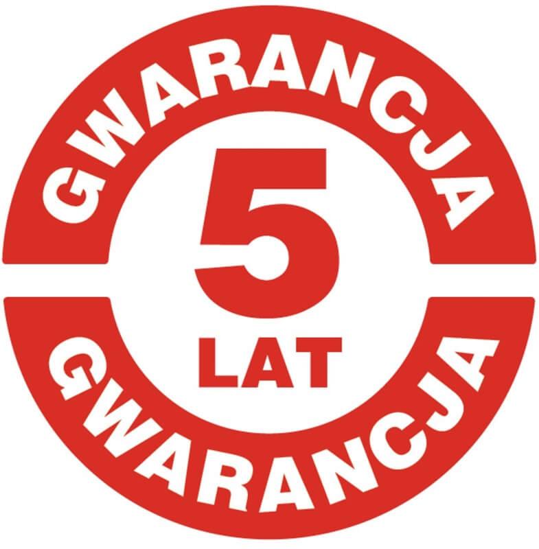 5 lat gwarancji Poldaun